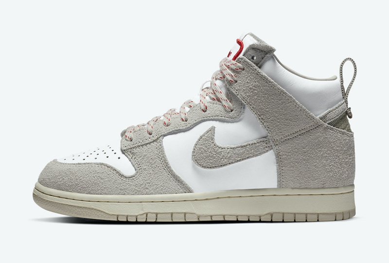 Nike,Notre,Dunk High,CW3092-40  高规格鞋面 + 百搭造型!全新联名 Dunk Hi 你打几分?