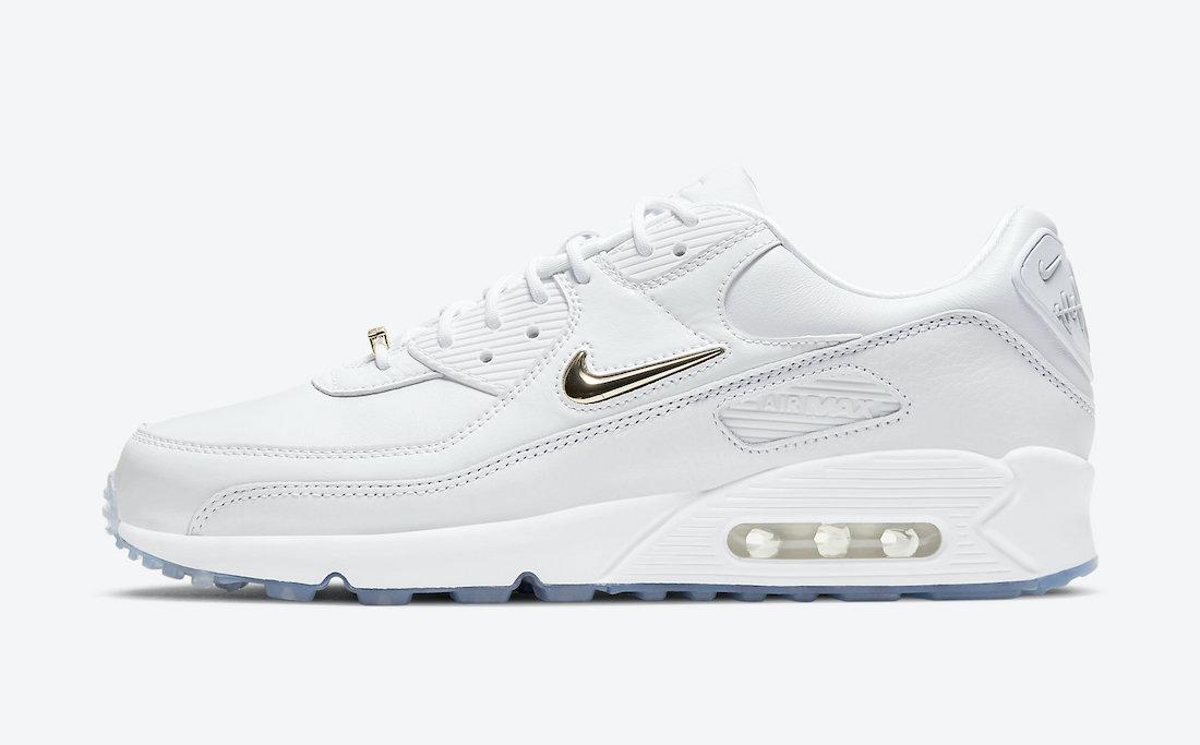 Air Max 90,Nike,CW4070-100  这双小白鞋亮点颇多!全新 Air Max 90 即将发售!