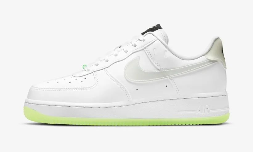 "Air Force 1,Nike,CT3228-100  笑脸 + 夜光元素!全新 AF1 ""Have A Nike Day"" 即将发售"