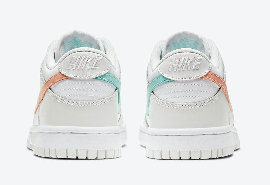 Nike,Dunk Low GS,CW1590-101  甜美鸳鸯装扮!全新 Nike Dunk Low 下月初发售!