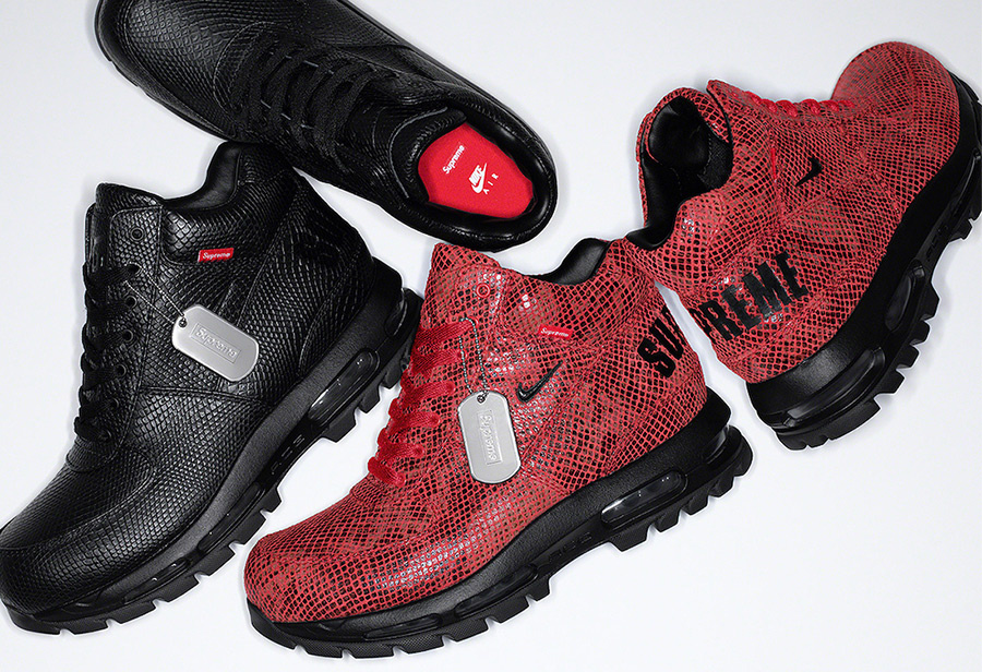 Supreme,Nike,Air Max Goadome  Supreme x Nike 新联名官图曝光!网友:就这?