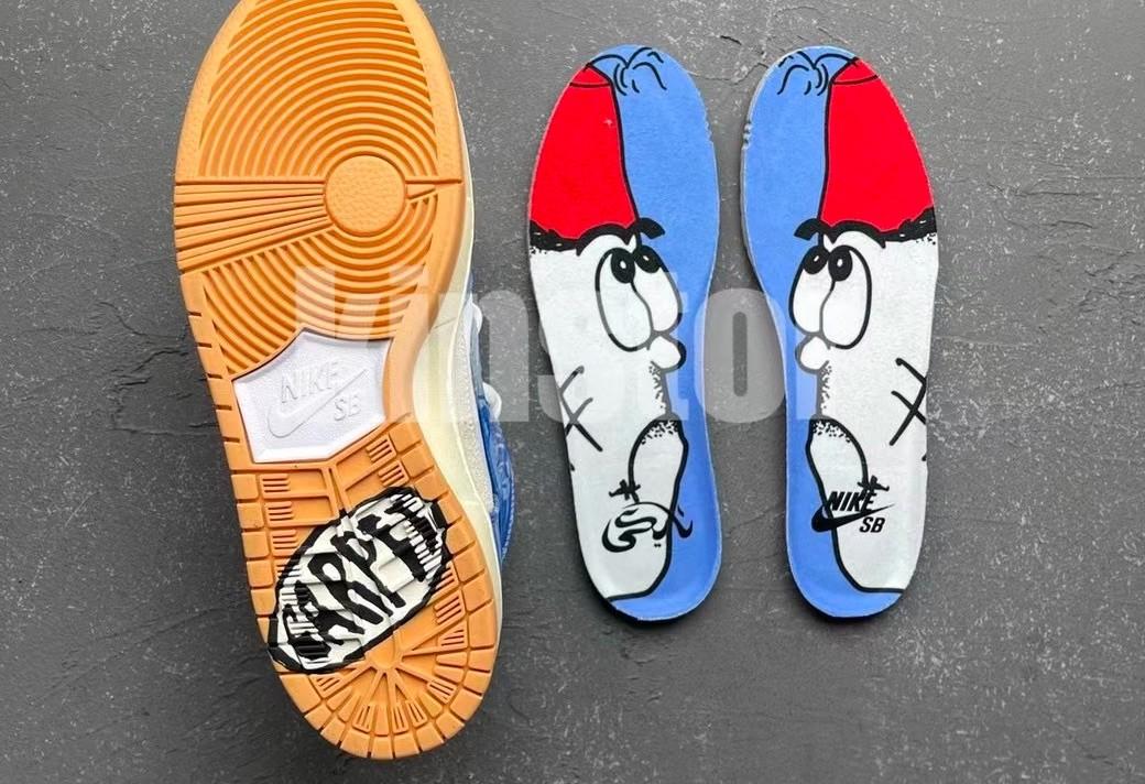 CV1677-100,Dunk SB,Nike,Nike S CV1677-100 卡通小人 + 刮刮乐!「地毯公司」Dunk SB 联名有新图了!