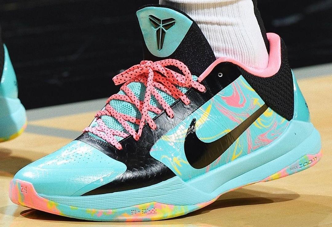 NBA,詹姆斯,科比  科比战靴最受欢迎!近期 NBA 上脚,看完直呼:想买!