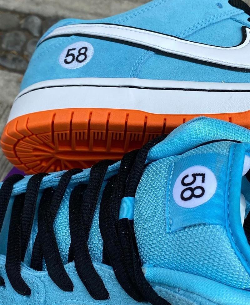 Nike SB,Dunk Low,Club 58,BQ681  小姐姐无法拒绝的配色!「赛车」Dunk SB 最新实物曝光!