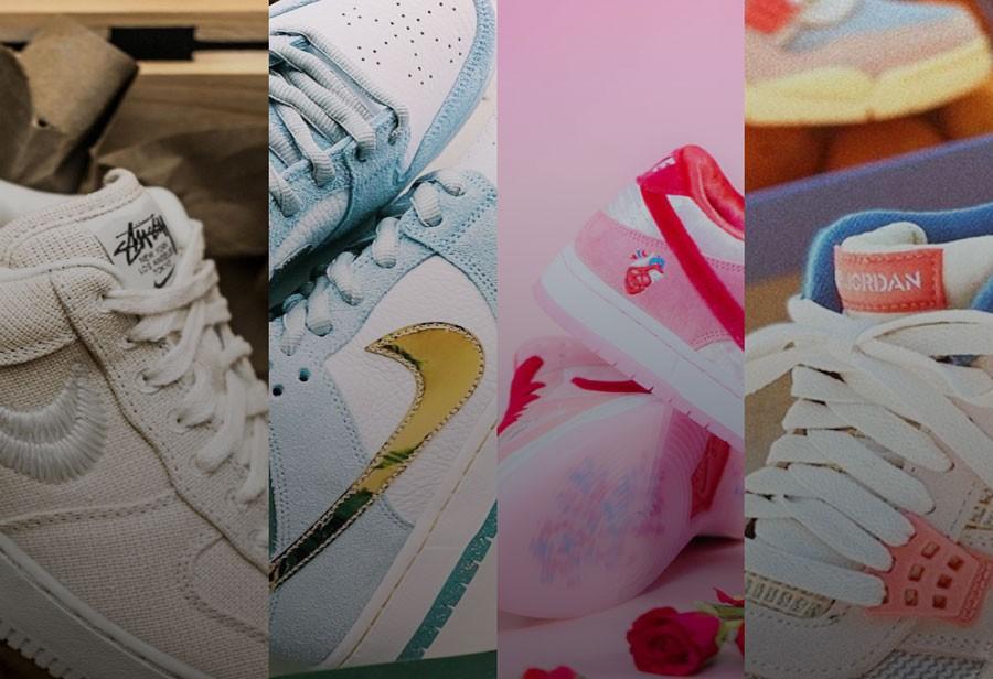 AJ1,Nike  15 双全新「富婆快乐鞋」越涨越贵!6 双破万!AJ1 Mid 都翻身做大哥!