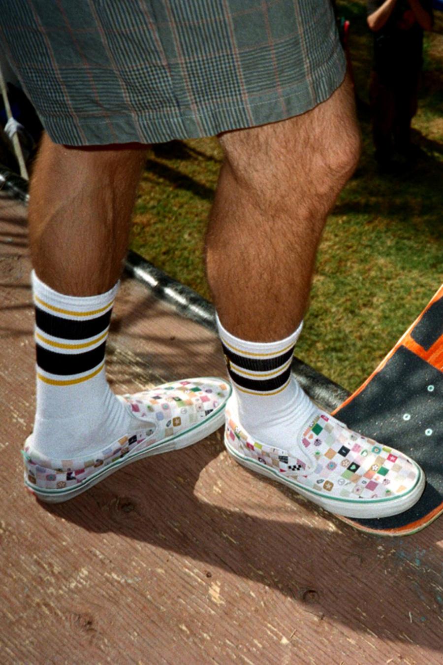 Vans,Frog Skateboards,Slip-On,  街头风十足!Frog Skateboards x Vans全新联名释出!