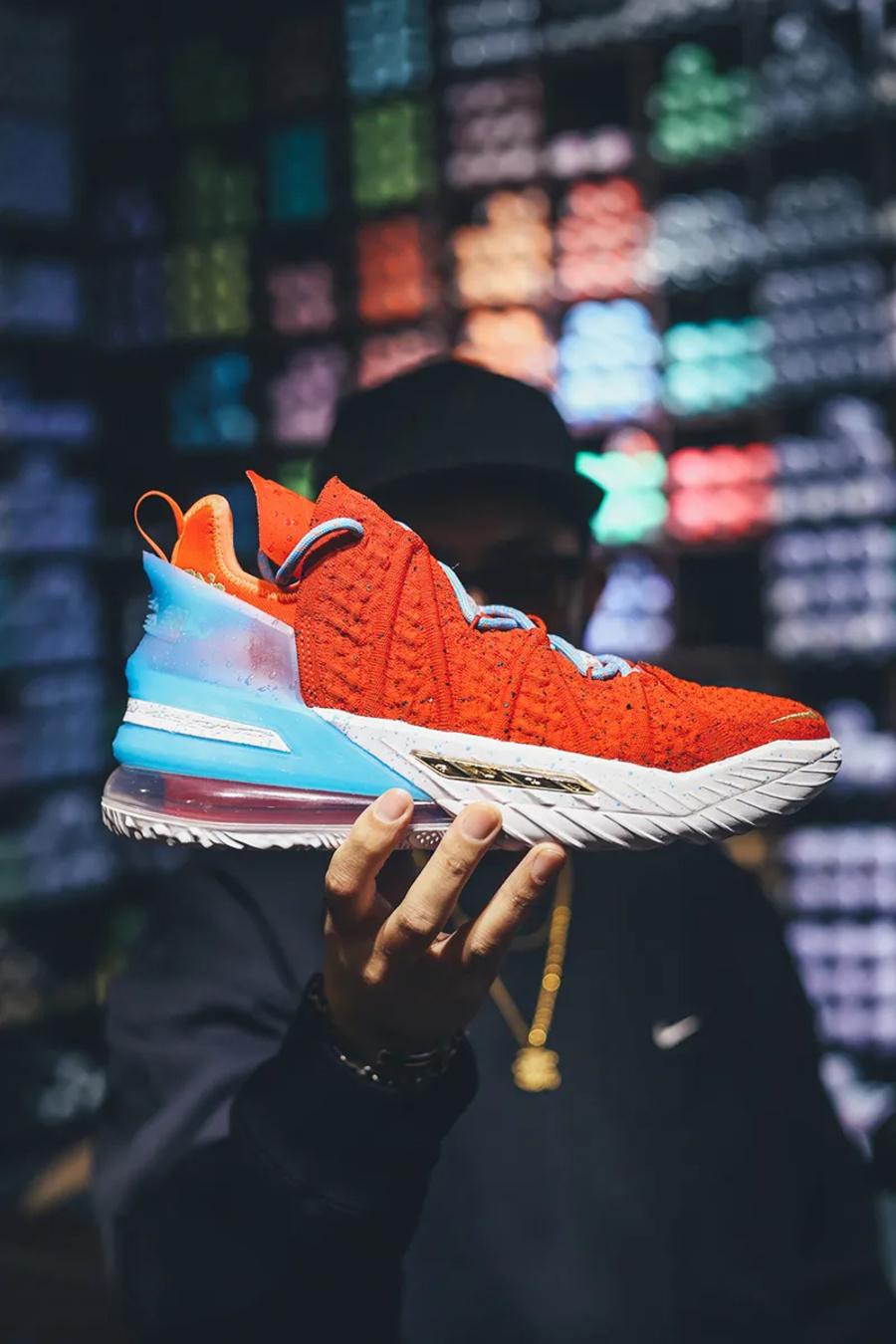 400ml,Nike LeBron 18  Nike 保密程度极高的「神秘新鞋」终于解禁!还有特殊彩蛋曝光!