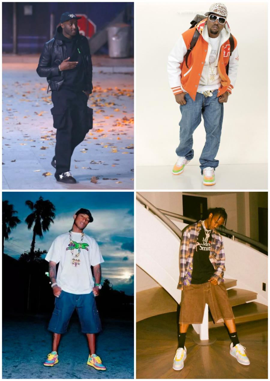 BAPE STA™,BAPE,Kanye  Kanye、Travis Scott 抢着穿!最有街头范儿的「OG 球鞋」即将发售!