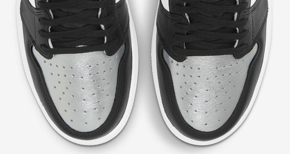 AJ1,Air Jordan 1,CD0461-001,发售  SNKRS 上架!黑银脚趾 AJ1 下周发售,男生们该扎心了!