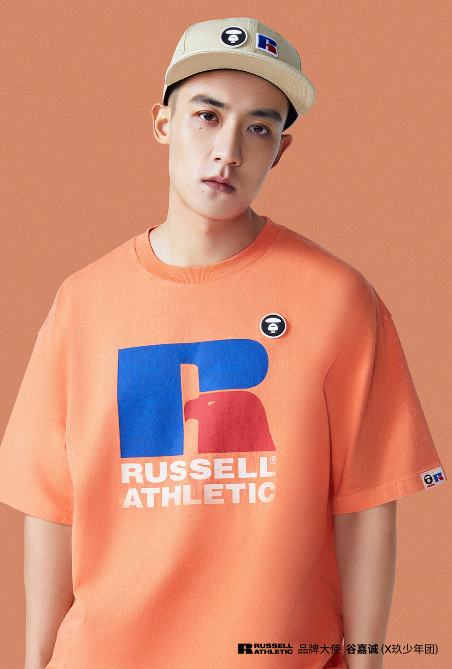 RUSSELL ATHLETIC,AAPENOW,AAPE,  复古运动风!RUSSELL ATHLETIC x AAPENOW 春夏新品即将发售!