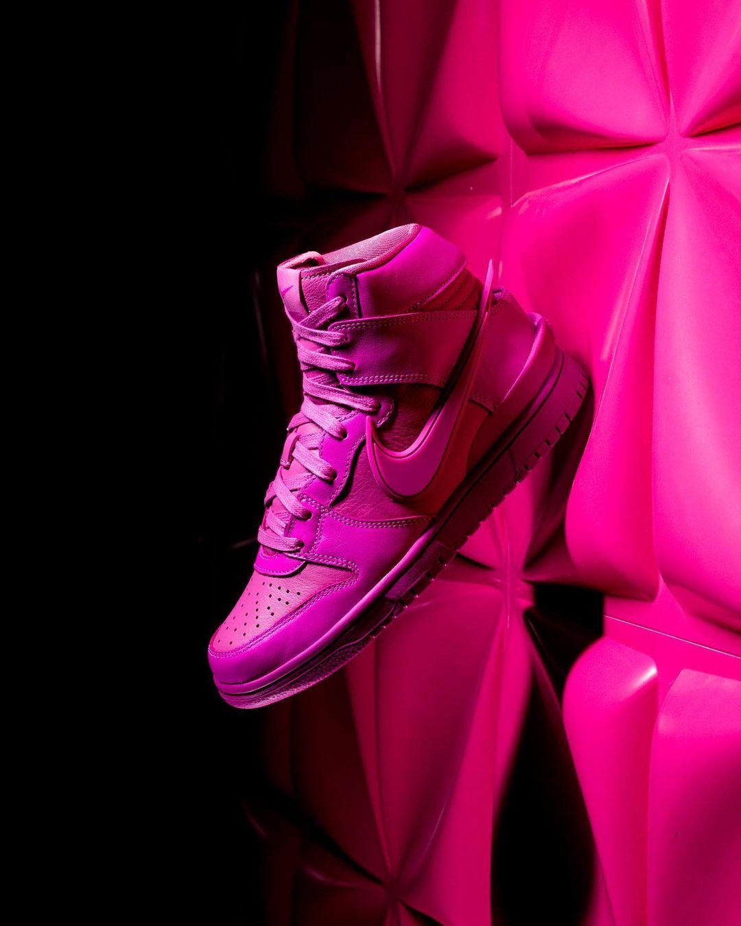 AMBUSH,Dunk Hi,Nike,发售  发售后跌 ¥1000!今早 AMBUSH x Dunk Hi 你中了吗?