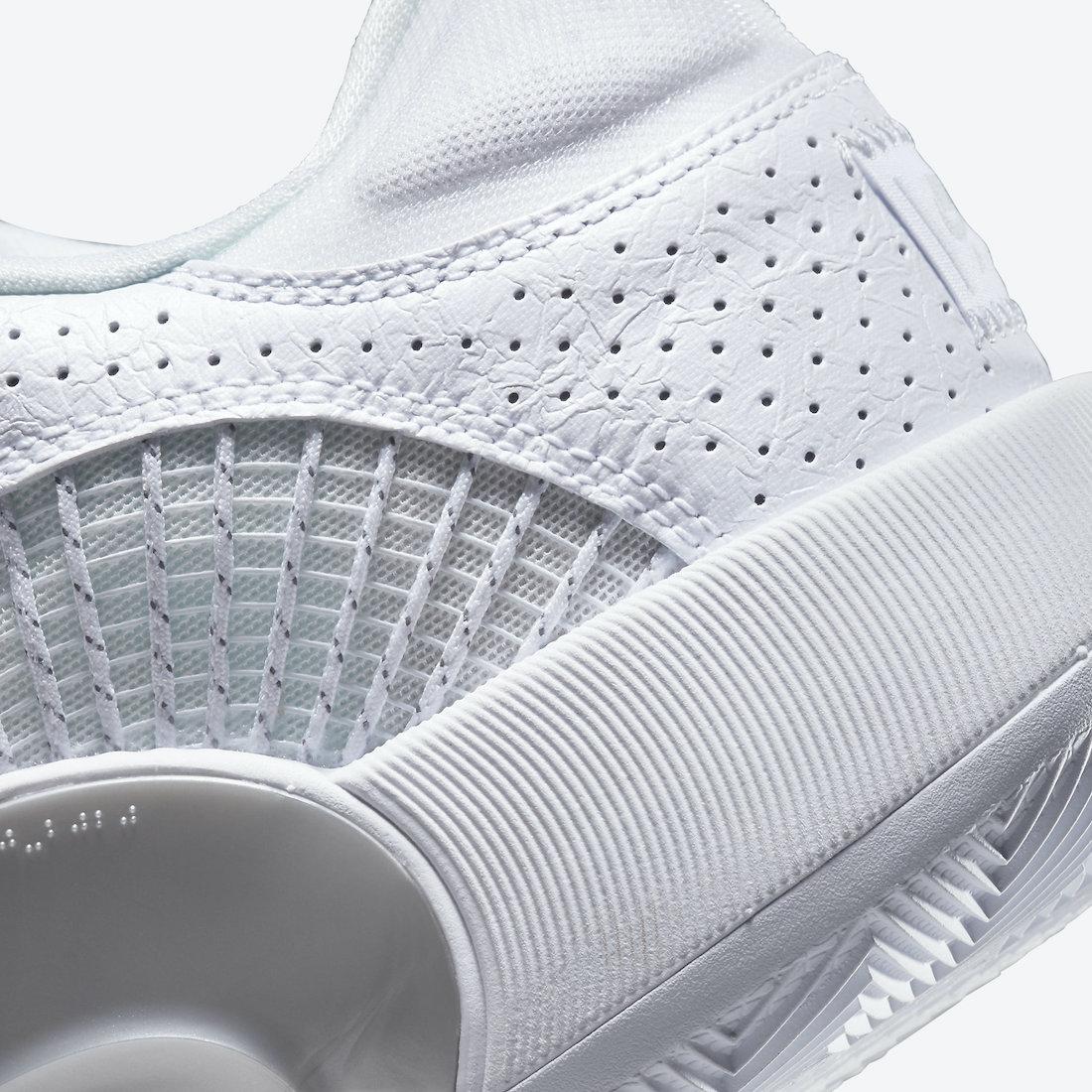 Air Jordan 35 Low,Jordan Brand  亮眼银色点缀!纯白 Air Jordan 35 Low 即将发售!
