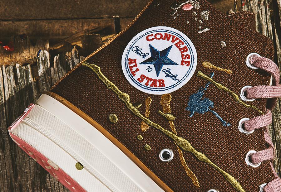 Bandulu,Converse,Chuck 70,Pro  这样的泼墨球鞋头一次见!Bandulu x Converse 明早正式发售!