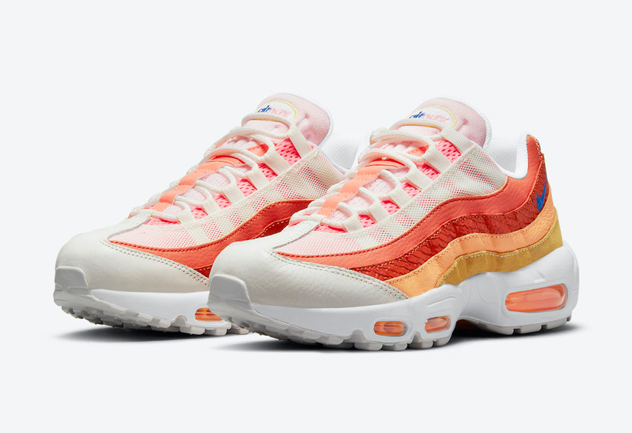 Nike,Air Max 95,Campfire Orang  渐变鞋身超吸睛!这双全新 Air Max 95 你打几分?