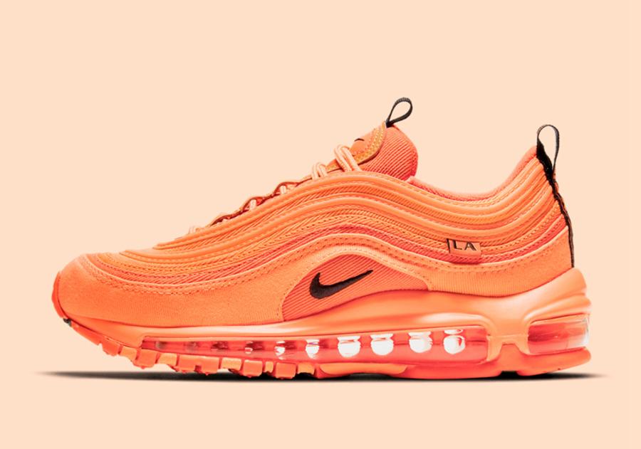 Nike,Air Max 97,LA,City Specia  糖果色灯芯绒!洛杉矶限定配色 Air Max 97 即将发售!