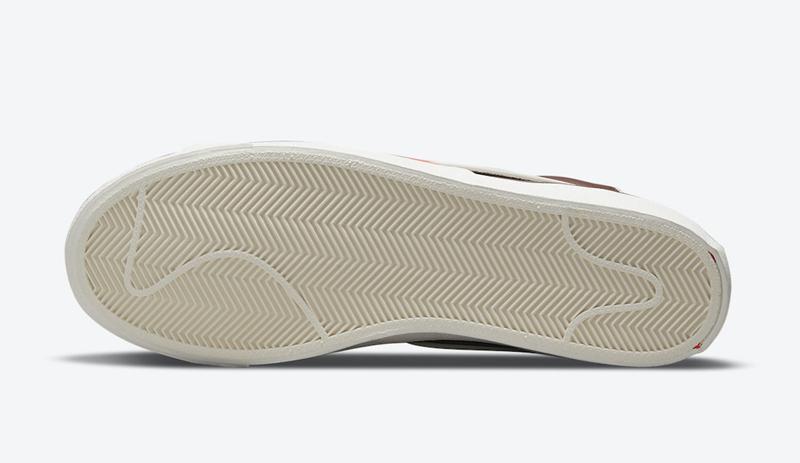 Nike,Blazer Mid '77 SE,DA7233-  皮革鞋面极具质感!全新配色 Nike Blazer Mid '77 官图释出!