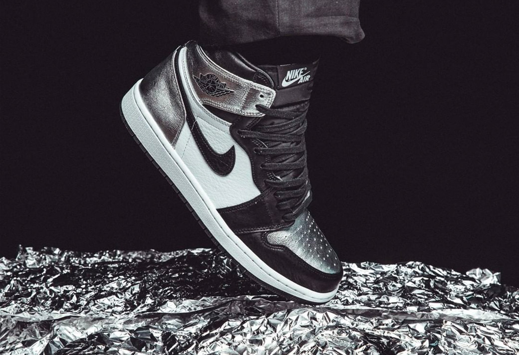 CD0461-001,AJ1,Air Jordan 1 CD0461-001 下周发售!黑银脚趾 AJ1 确实越看越诱人!