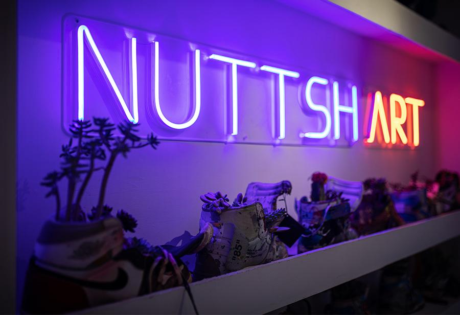 """NUTTSH ART  50 双稀有球鞋被 """"残忍"""" 拆解!「背后真相」令人直呼意外!"""