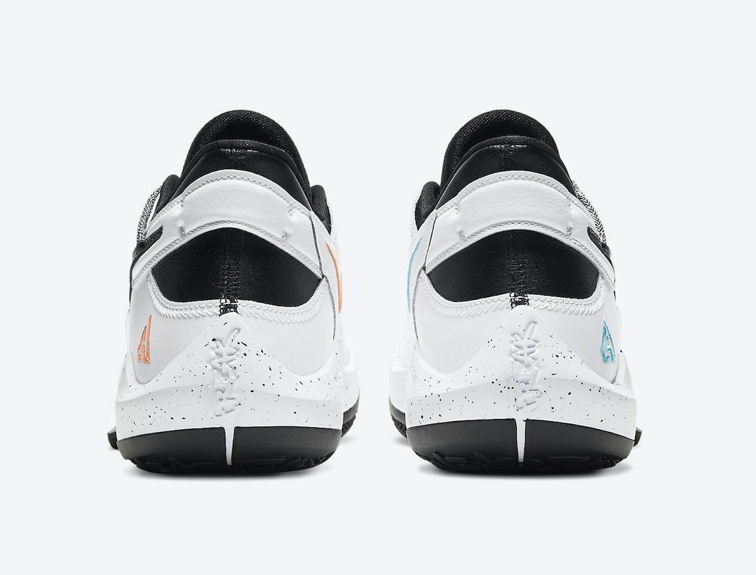 Nike,Zoom Freak 2,CK5424-101,  水洗丹宁鞋面!字母哥战靴 Nike Zoom Freak 2 全新配色曝光!