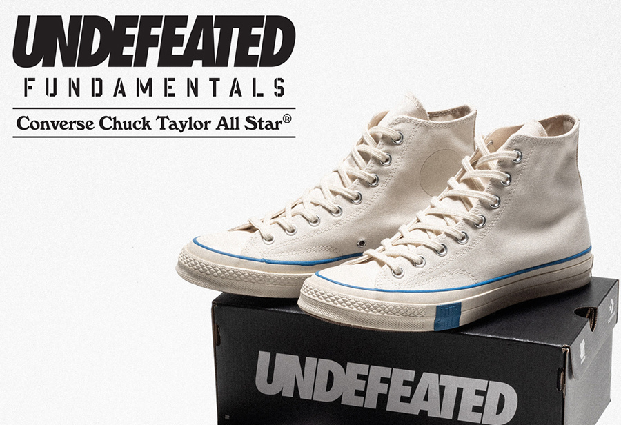 Converse,Chuck 70,Undefeated,  刚刚曝光!Undefeated x Converse 居然还有隐藏配色!