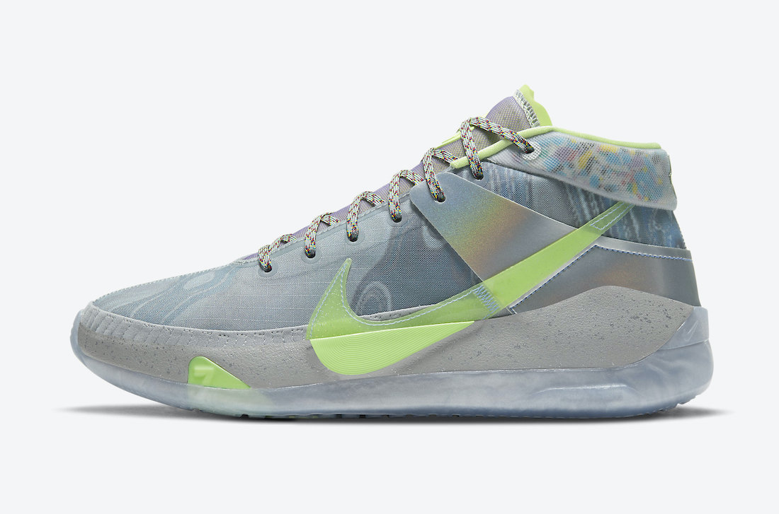 Nike,KD 13,CW3159-001,发售  自带水转印特效!全新 KD 13 下月发售!