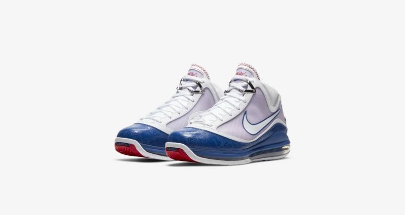 Nike,LeBron VII,Baseball Blue,  棕榈树花纹点缀!全新 LeBron 7 即将登场!
