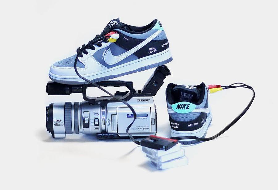 Nike SB,Dunk Low,VX1000 Camcor  市价 1W+!索尼「摄像机」Dunk SB 最新实物美图曝光!