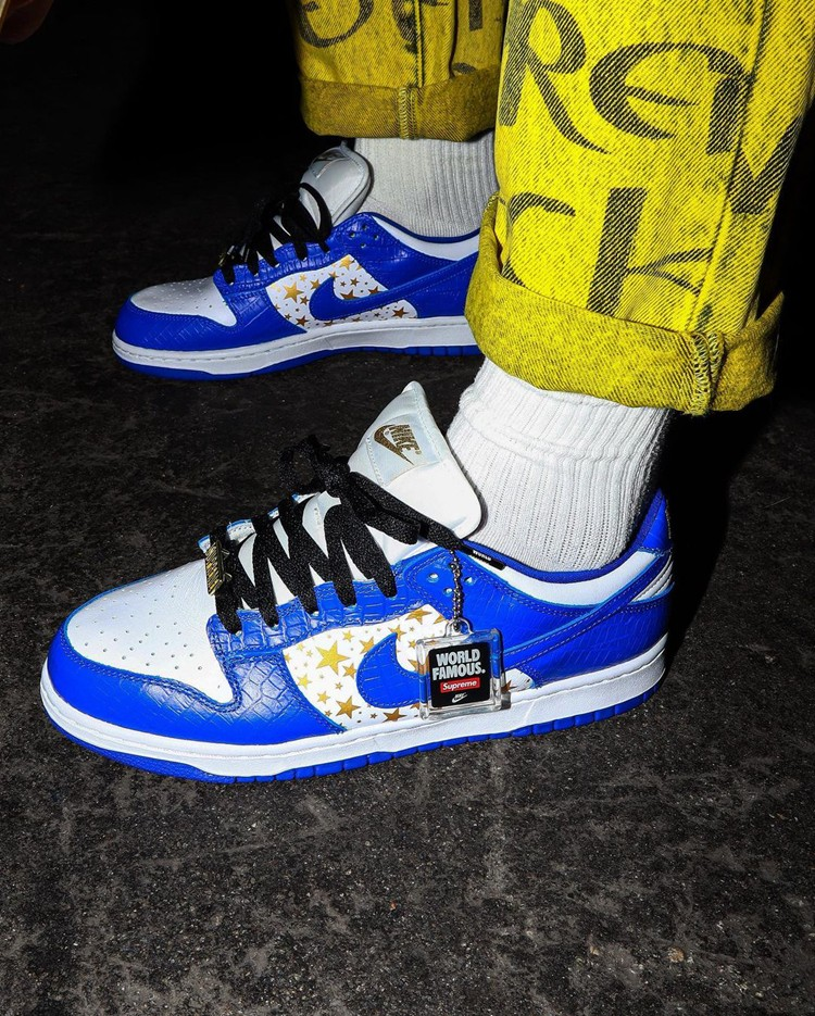 Supreme,Nike SB,Dunk Low,DH322  四款 Supreme x Dunk SB 上脚图释出!看完忍不住剁手!