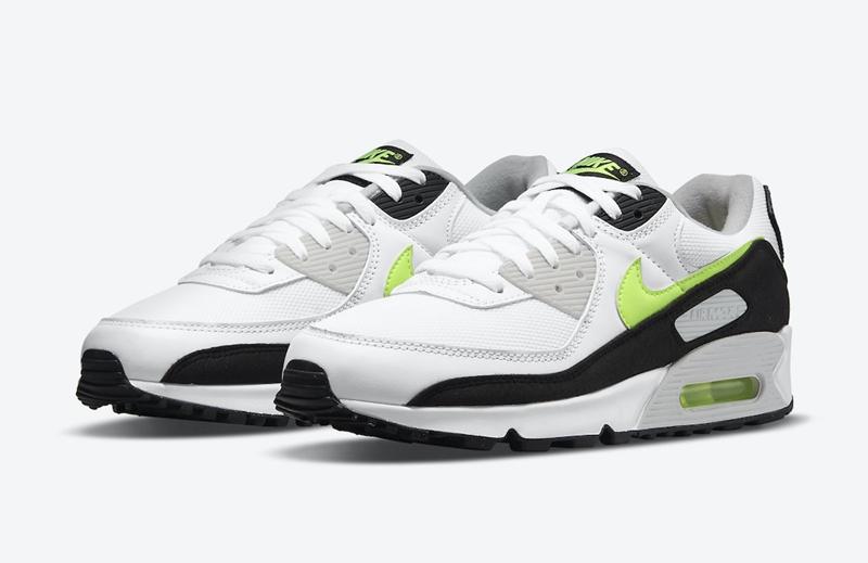 Nike,Air Max 90,Hot Lime,CZ184  简约 OG 造型!全新配色 Air Max 90 即将登场!