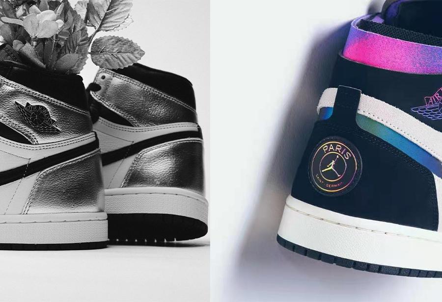 Air Jordan 1,Nike.DB3610-105,C  市场价破 ¥2000 RMB!近期热度超高的大巴黎+黑银脚趾实物赏析!
