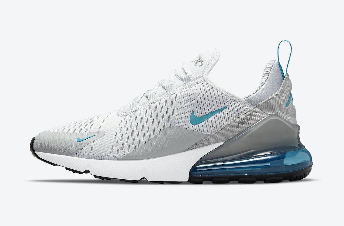 Air Max 270,Nike,DM2462-002  清新 Tiffany 蓝点缀!全新 Air Max 270 即将发售!
