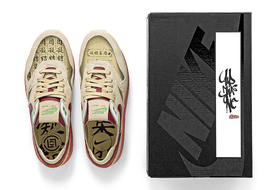 陈冠希,死亡之吻,CLOT,Nike,Air Max 1,D  周董又提前晒鞋!「死亡之吻」完整发售信息曝光!速登记!