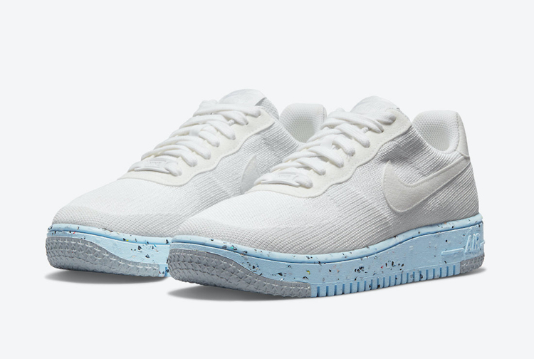 Nike,Air Force 1,Crater Flykni  环保概念 + Flyknit 造型!全新配色 Air Force 1即将发售!