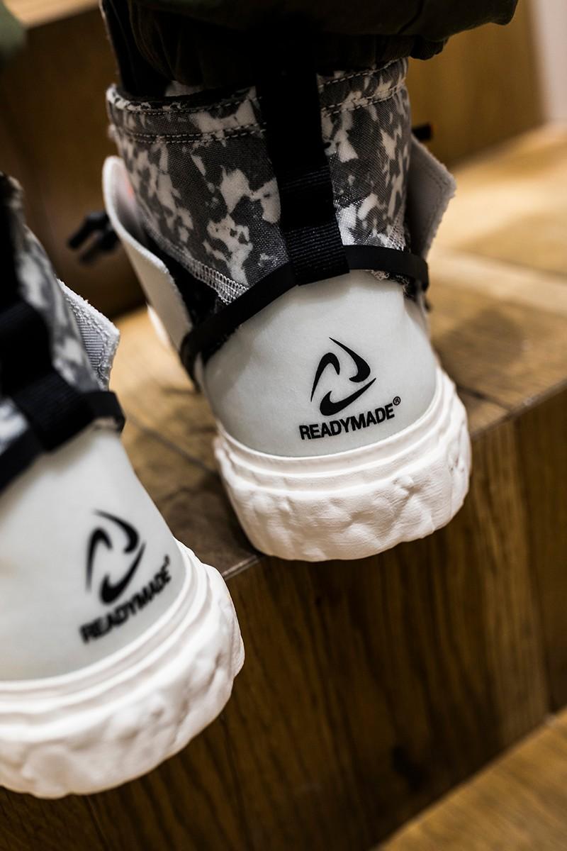READEMADE,Nike,Blazer Mid  詹姆斯、周董、TS 和小編撞鞋!本月「最強聯名」今早發售!你沒搶到吧?