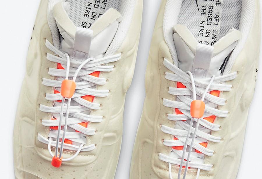 Air Force 1,AF1,Nike,發售,CV1754  酷似初代 OW 聯名!市價高于原價!奶油 AF1 明天 SNKRS 發售!