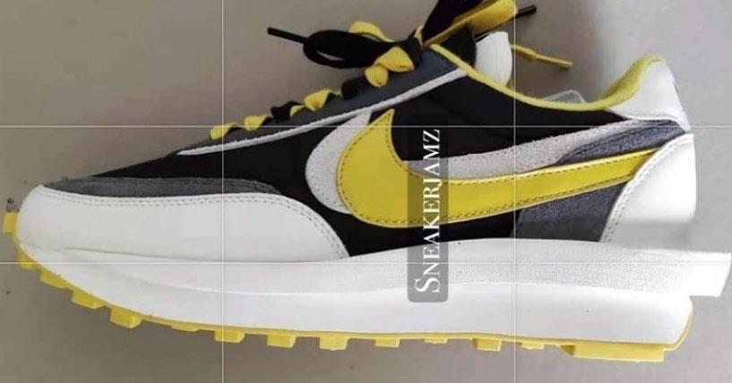 新一代,富婆,快樂,鞋,黑黃,sacai,Nike,新配色,  新一代富婆快樂鞋?黑黃 sacai x Nike 新配色首次曝光!