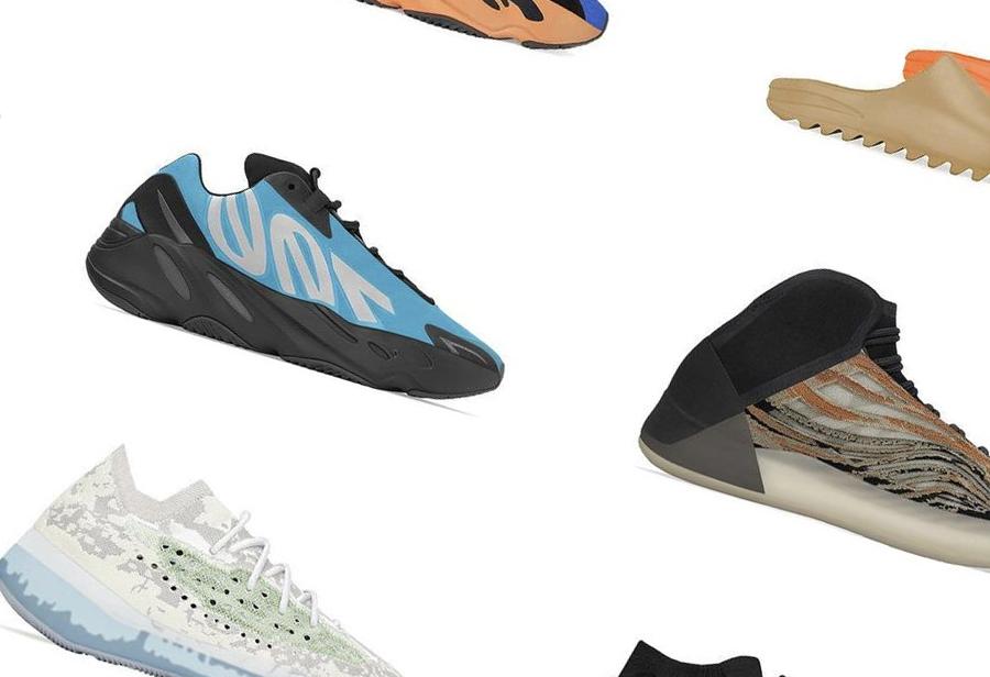 Yeezy,adidas,发售  侃爷又发力了!近期 14 双 Yeezy 新品预告!有些是第一次见!