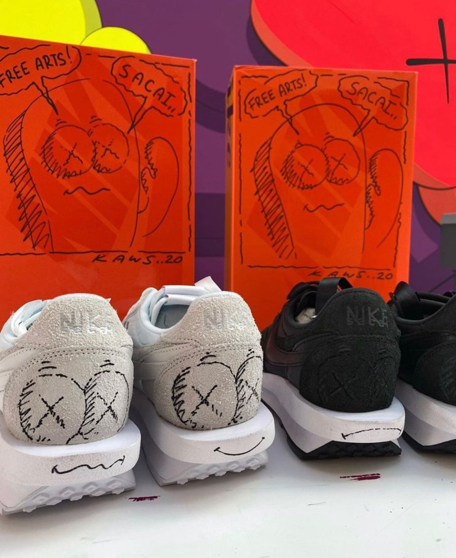 KAWS,sacai,Nike,Blazer Low  KAWS x sacai x Blazer 首次曝光!感觉有点敷衍啊...