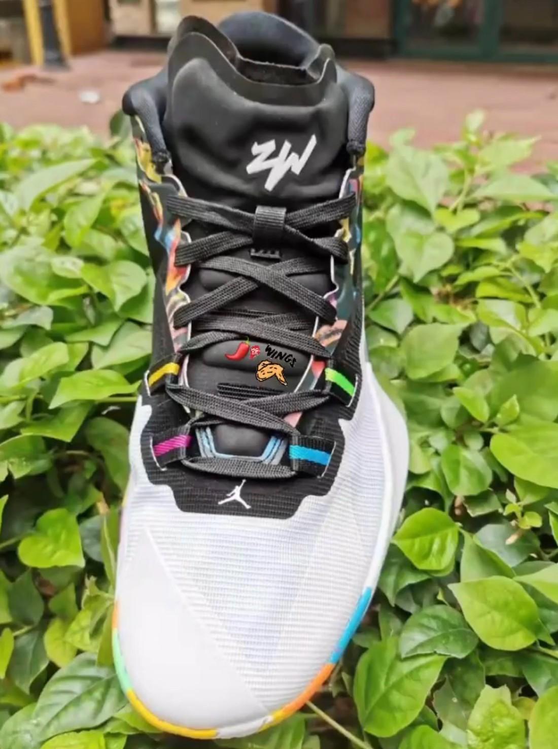 Jordan Z Code,Zion  这设计够夸张!胖虎 Zion 签名鞋 Jordan Z Code 首次曝光!