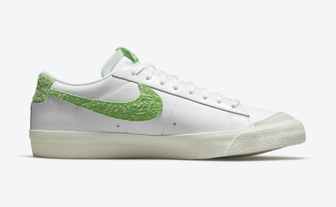 Nike,Blazer Low,DJ6193-100,Soc  抢眼足球场配色!全新 Nike Blazer Low 近期即将发售!