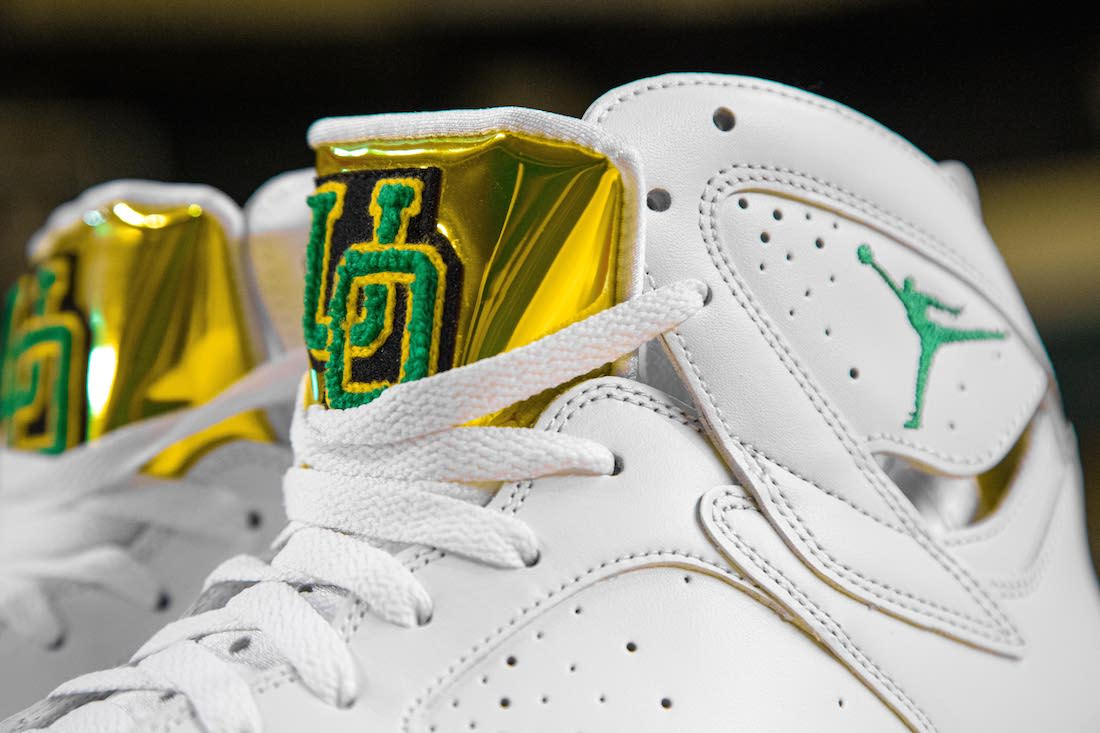 Air Jordan,AJ7,Oregon Ducks  天价「俄勒冈」再添新配色!这双 AJ7,光看细节就想要!