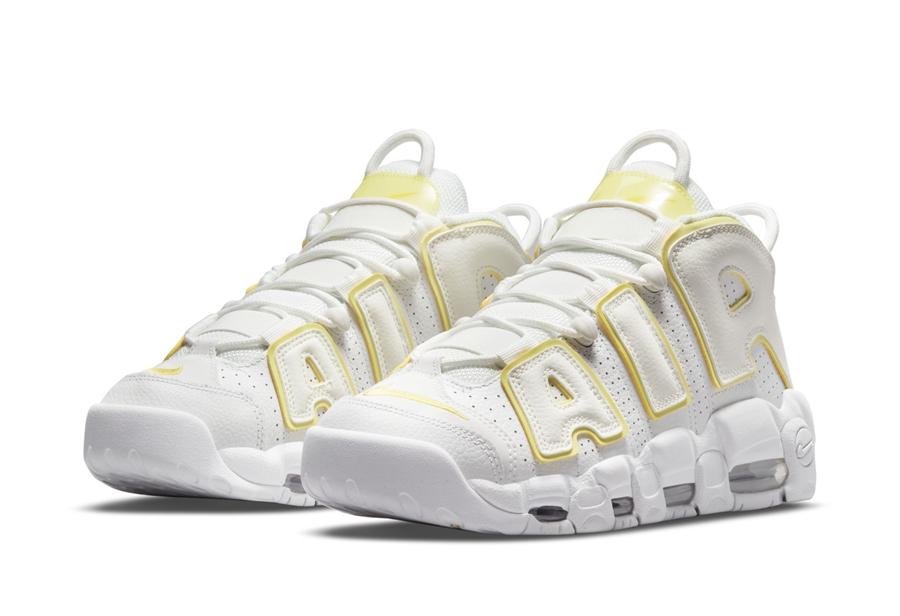 Nike,Air More Uptempo  白黄造型超清新!全新配色「大 AIR」官图曝光!