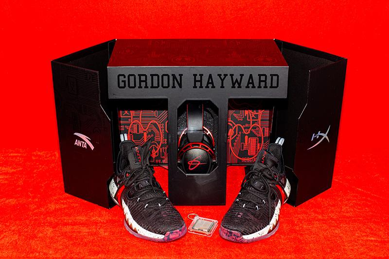 Anta,HyperX,海沃德,电竞,限定礼盒  联名鞋 + 游戏耳机只要 ¥699!海沃德「电竞礼盒」太值了!明天必抢!