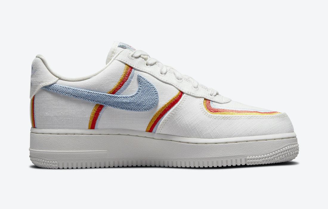 Nike,AF1,DJ4655-133,Air   高颜值小白鞋又来了!全新 Air Force 1 登场!