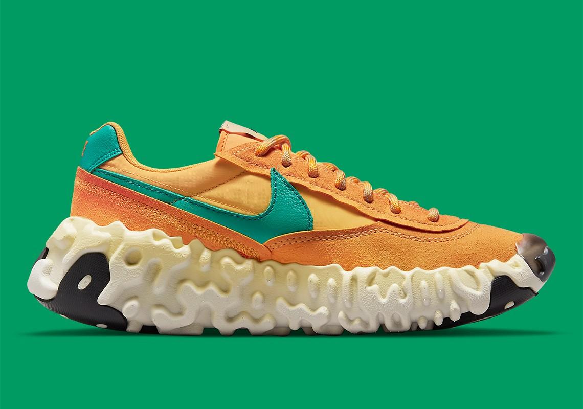 Nike,Nike OverBreak SP,DA9784-  「小火星鞋」新配色夏天登场!这颜值也太顶了吧!