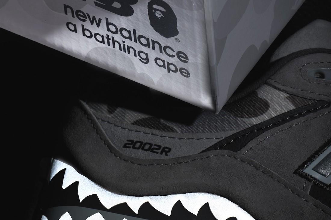 BAPE,New Balance,2002R  融合双方最经典元素!BAPE x New Balance 又凶猛又超吸睛!