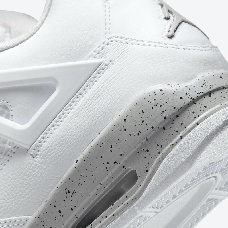 Air Jordan 4,AJ4,White Oreo,CT  都在等的「纯白奥利奥」AJ4 实物曝光!发售日期有了!