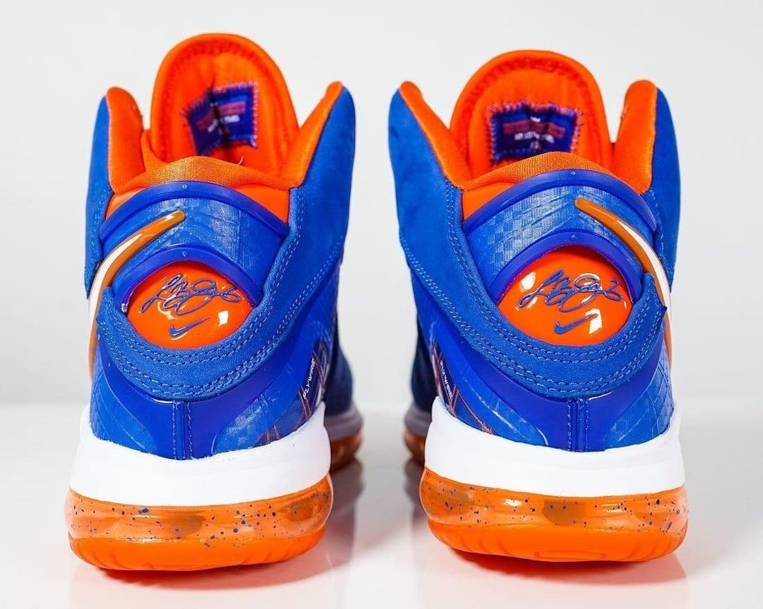 CV1750-400,LeBron 8,Nike,LBJ8 CV1750-400 骚气!骑士复古球鞋配色 LeBron 8 HWC 要来了!