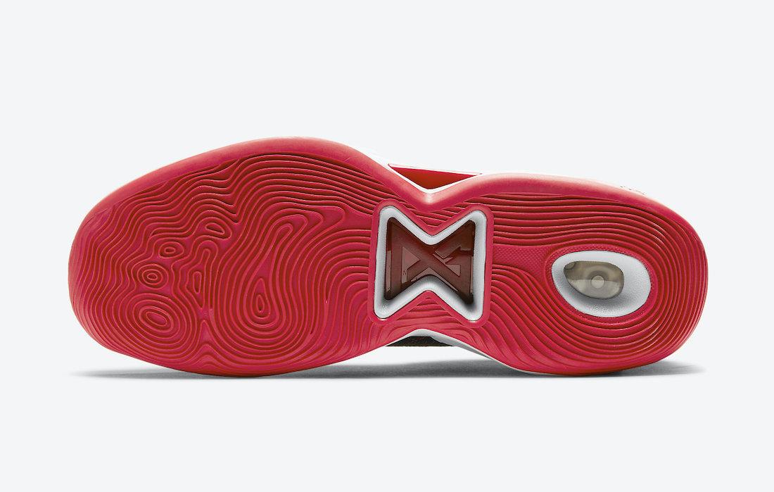 PG 5,Nike,CW3143-002  黑红配色装扮!全新 Nike PG5 现已发售!