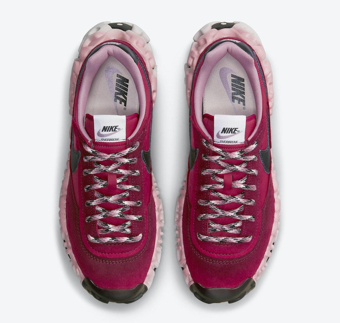 Overbreak,Nike,DA9784-600  酒红色装扮颇为亮眼!全新 Nike OverBreak  即将发售!